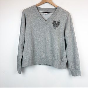 VTG HARLEY-DAVIDSON Cropped Boxy Sweatshirt 90's